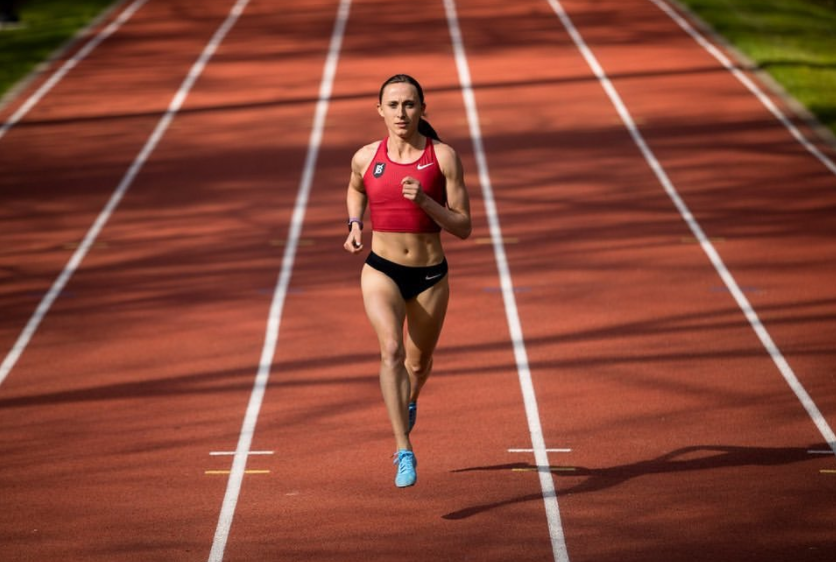 American middle distance runner, Shelby Houlihan