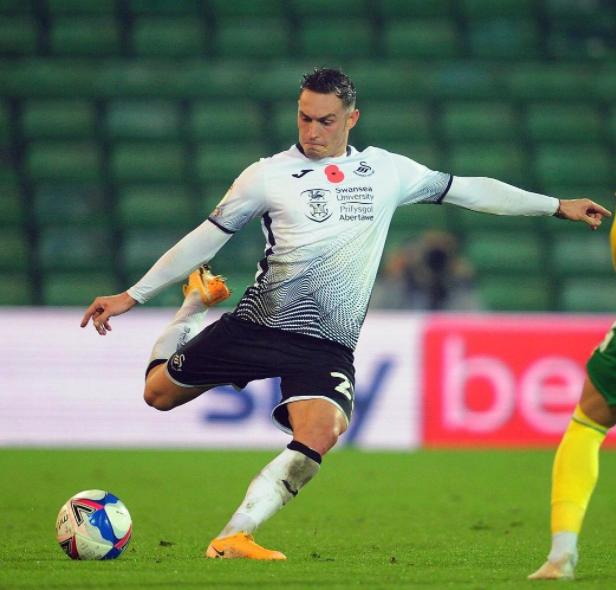 Professional Welsh Footballer, Connor Roberts