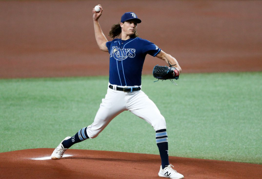 Tyler Glasnow, American professional baseball pitcher for the Tampa Bay Rays