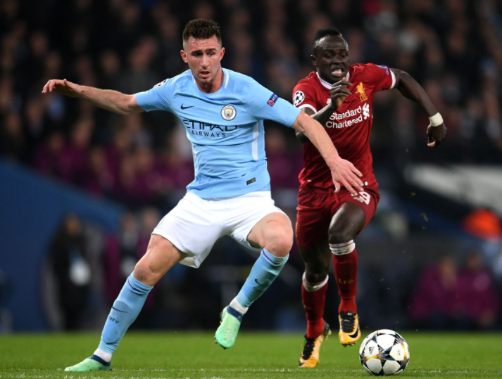 Professional French Footballer, Aymeric Laporte is playing for Manchester City