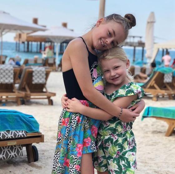 Sebastian Larsson Daughters