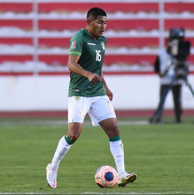 Bolivian Footballer Erwin Saavedra