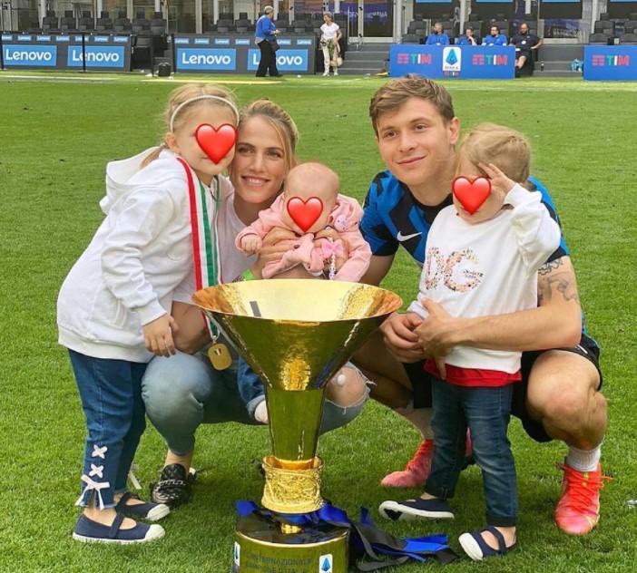 Nicolo Barella family