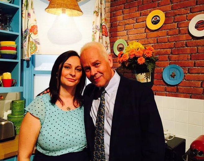 James Michael Tyler with his wife, Jennifer Carno