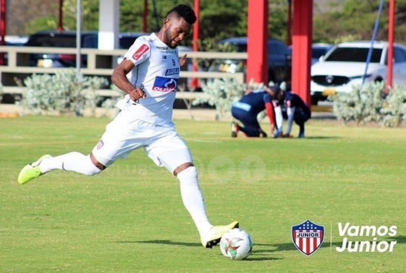 Miguel Borja is currently playing for club, Junior on loan from Palmeiras
