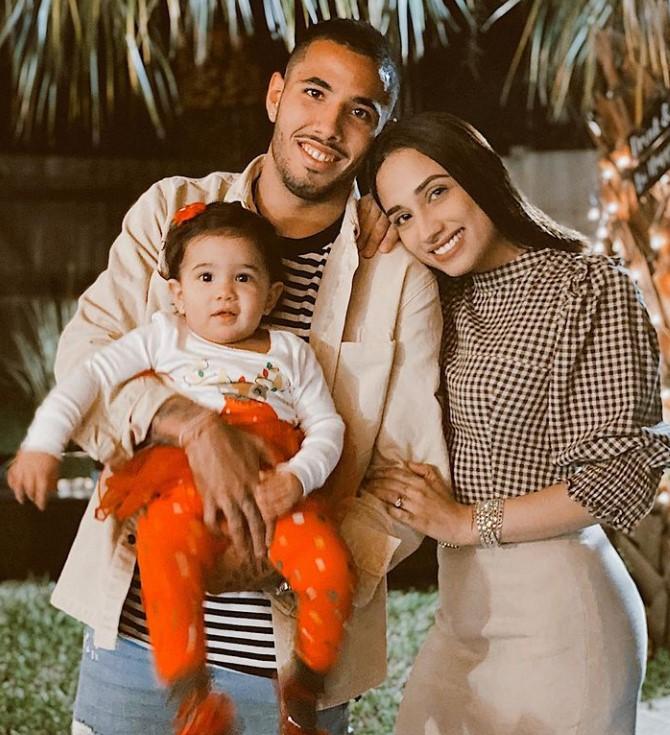 Sergio Pena family