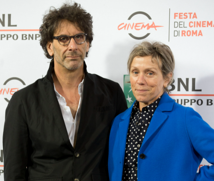 Frances McDormand and her husband, Joel Coen