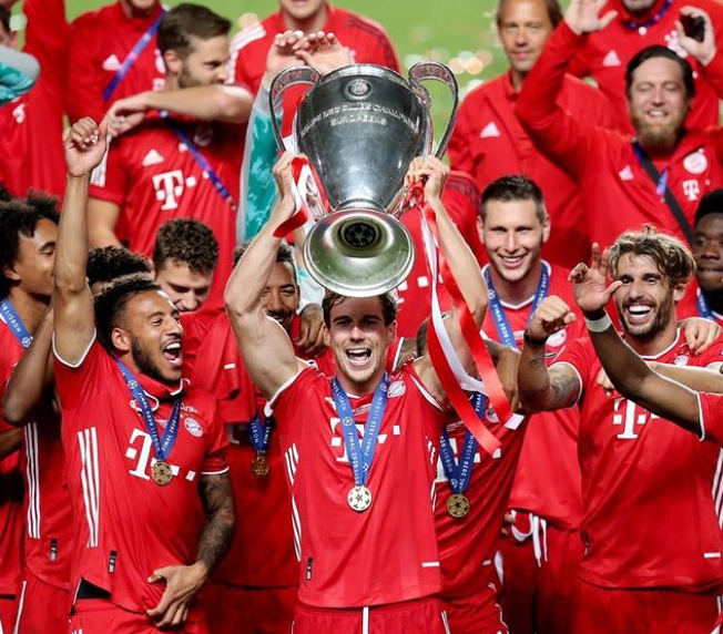 Champions of Europe! 🏆