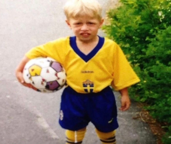 Emil Forsberg young