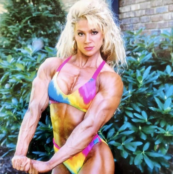 Melissa Coates, Canadian Bodybuilder and Wrestler