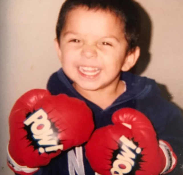 Mario Barrios's Childhood Picture