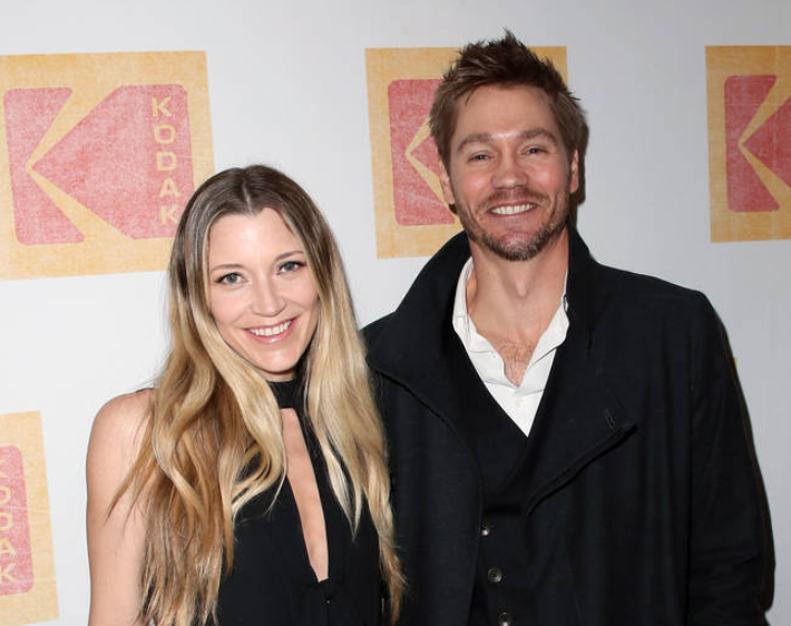Chad Michael Murray and his wife, Sarah Roemer
