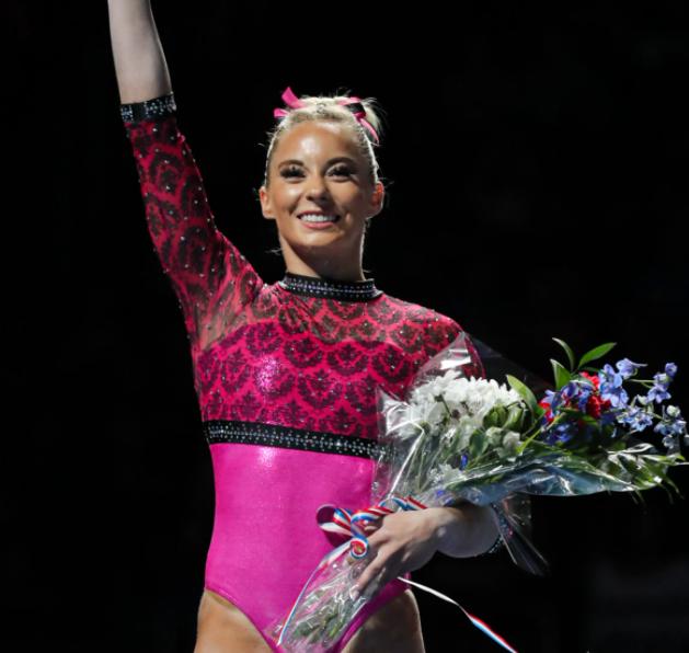 MyKayla Skinner wins three individual golds at Gymnix International