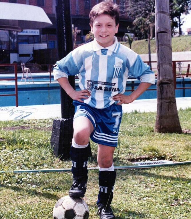 Papu Gomez young