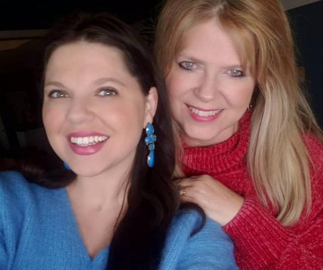 Amy Duggar and her mom, Deanna Duggar