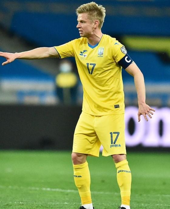 Oleksandr Zinchenko Ukraine