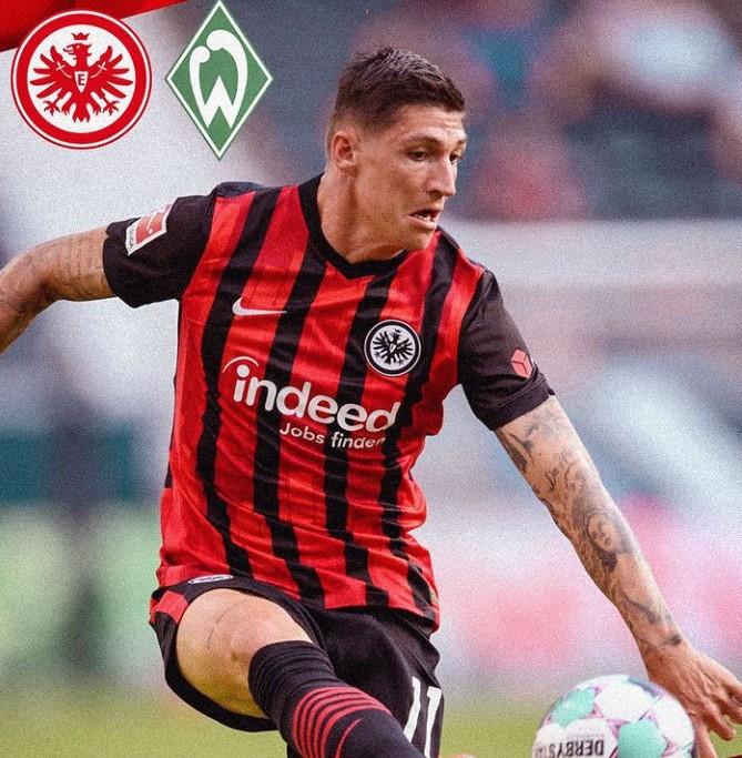 Steven Zuber Eintracht Frankfurt
