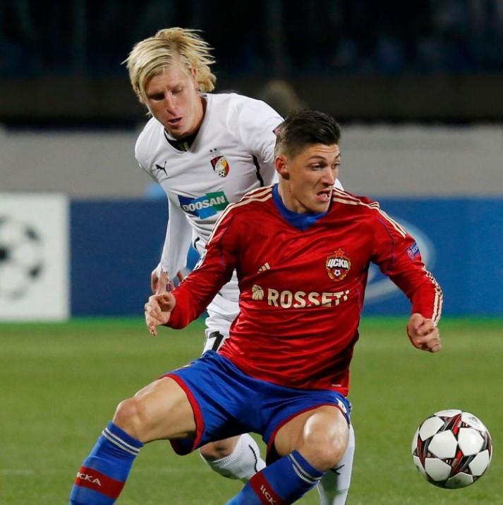Steven Zuber CSKA Moscow