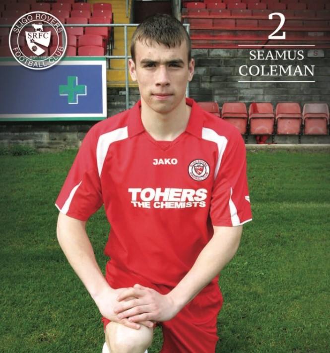 Seamus Coleman Sligo Rovers