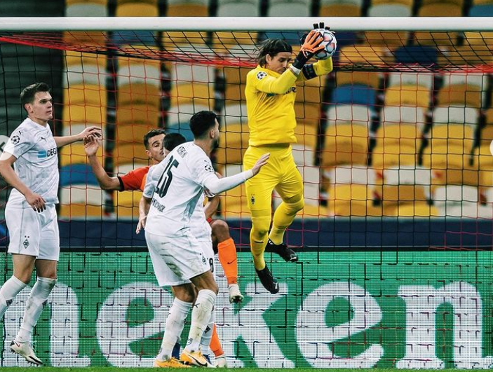 Yann Sommer, goalkeeper for Bundesliga club Borussia Monchengladbac