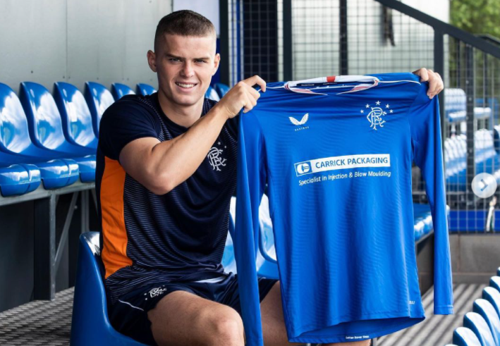 Josh McPake signed a new deal with Rangers FC