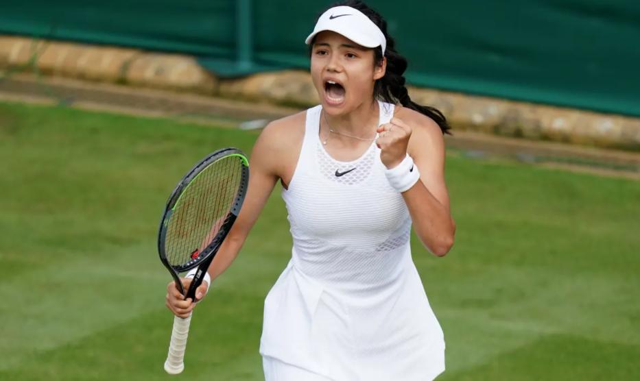 Emma Raducanu is seen as one of the rising stars of British tennis