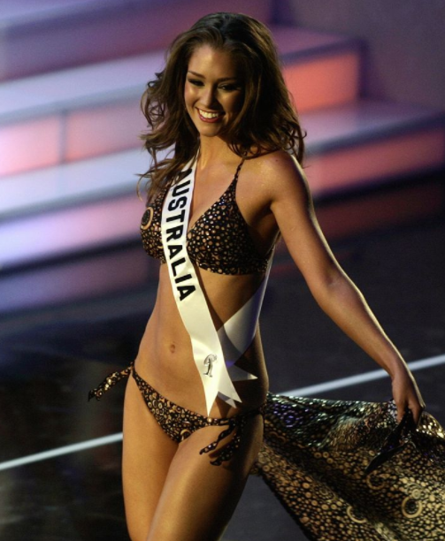 Erin McNaught was crowned the winner of the Miss Australia competition in 2006
