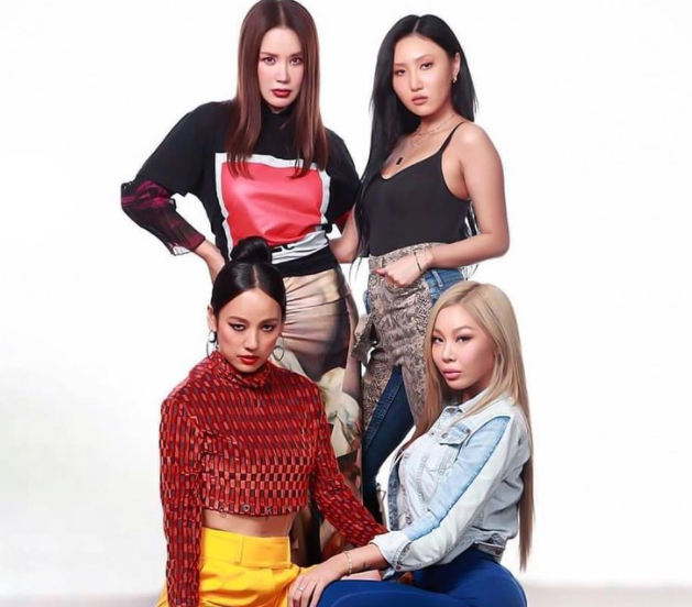 Jessi is also a member of four-member supergroup Refund Sisters