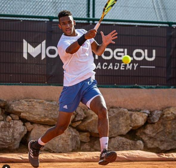 Professional Canadian Tennis Player, Felix Auger-Aliassime