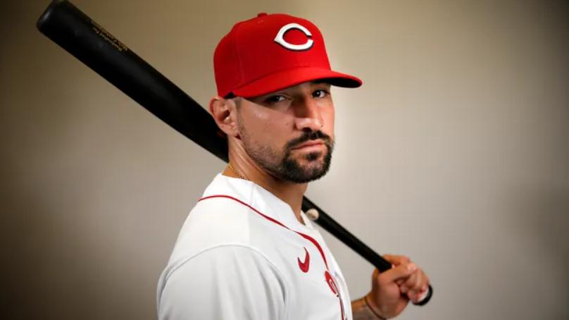 Nicholas Castellanos, American professional baseballer for Cincinnati Reds of Major League Baseball (MLB)