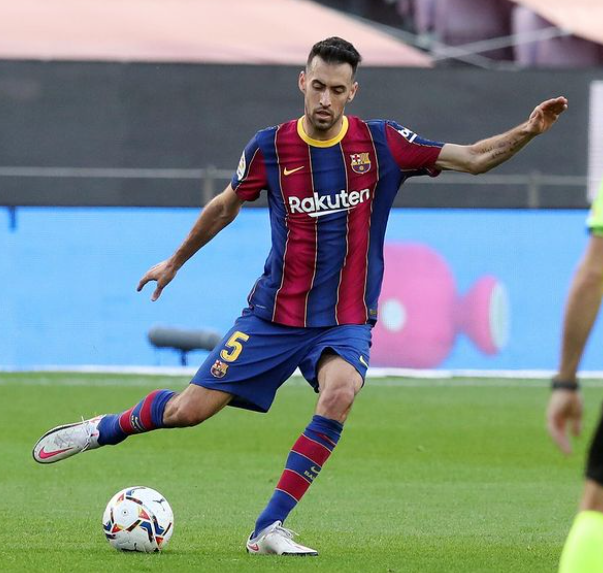 Sergio Busquets is currently playing for Barcelona