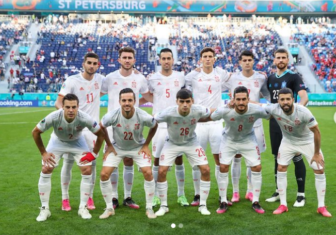 Sergio Busquets was included in Luis Enrique's 24-man squad for UEFA Euro 2020