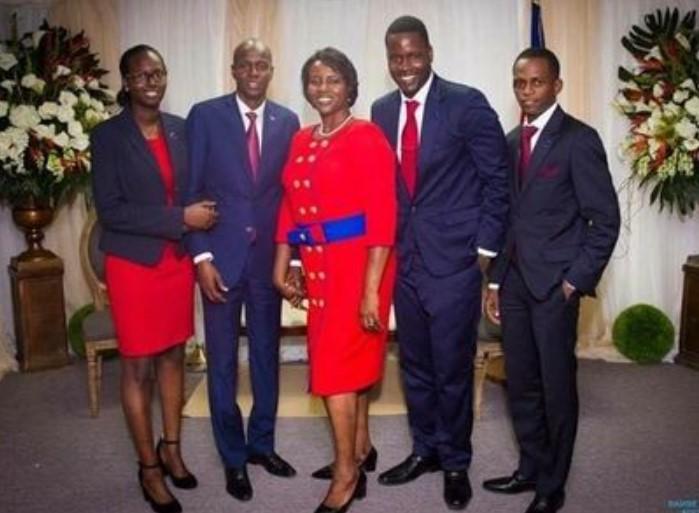 Jovenel Moise family