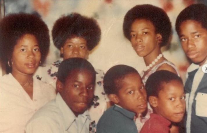 Eric Adams grew up alonside his five siblings