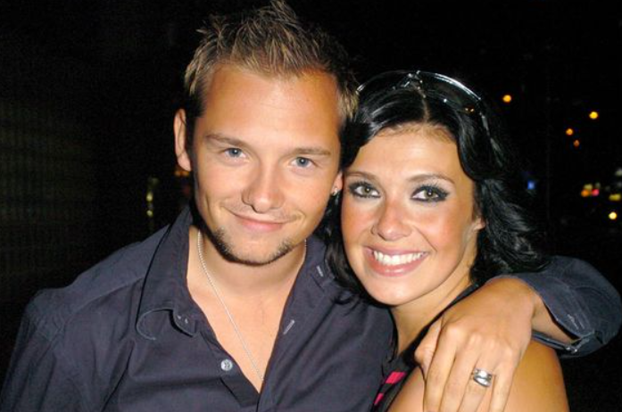 Jack Ryder and his ex-wife, Kym Marsh