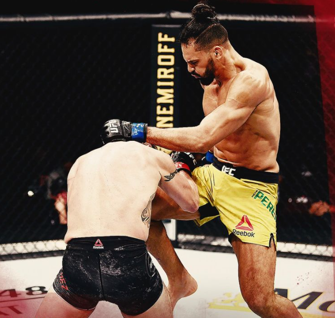 Michael Pereira is currently competing in the Ultimate Fighting Championship