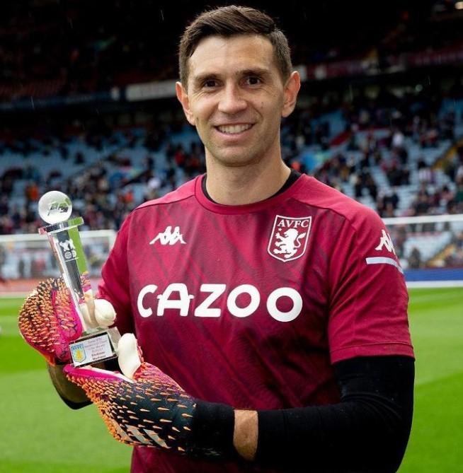 Emiliano Martinez Aston Villa