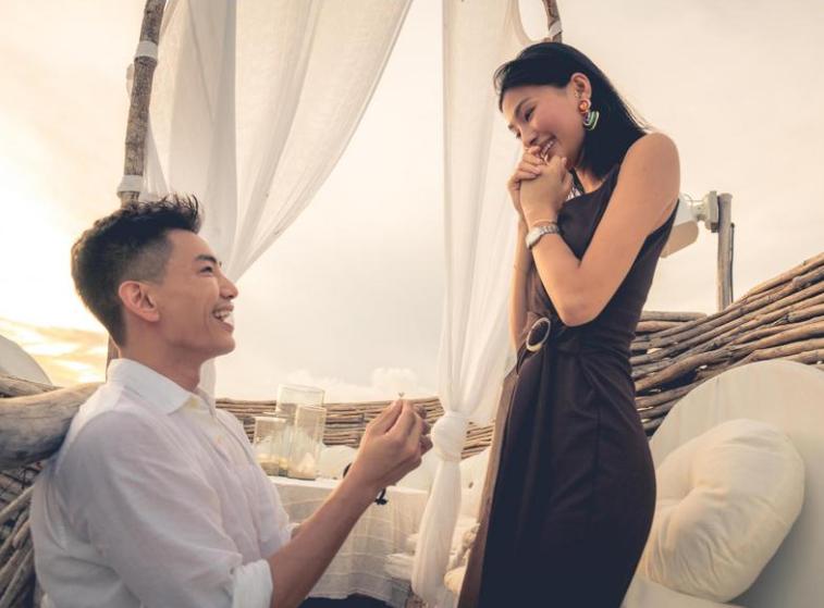 Jeffrey Kung and his ex-girlfriend, Vivi Tan