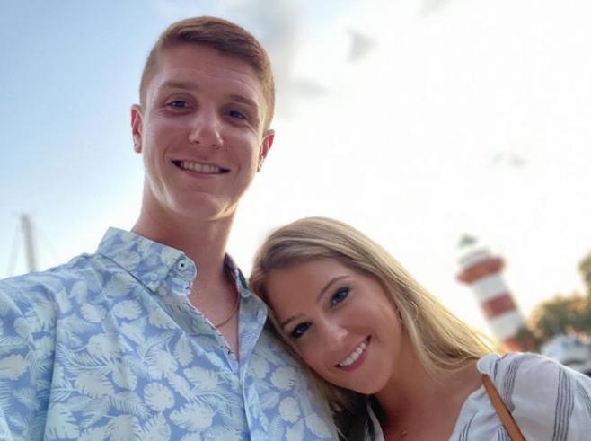 Kevin Huerter and his girlfriend Elsa Shafer