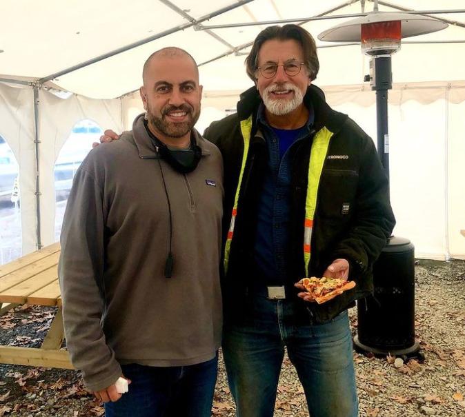 Ish Soto and actor, Rick Lagina