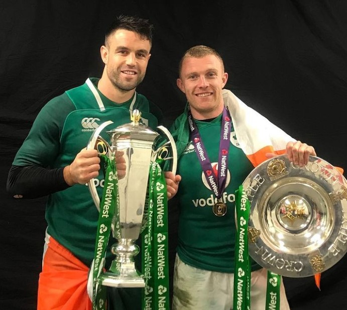 Conor Murray trophies
