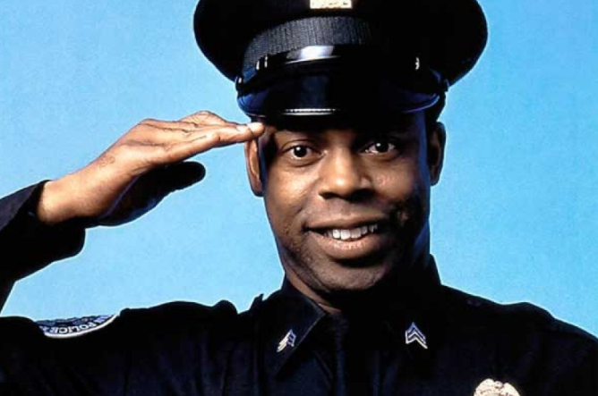 """Michael Winslow appeared as Larvell Jones in """"Police Academy"""" films"""