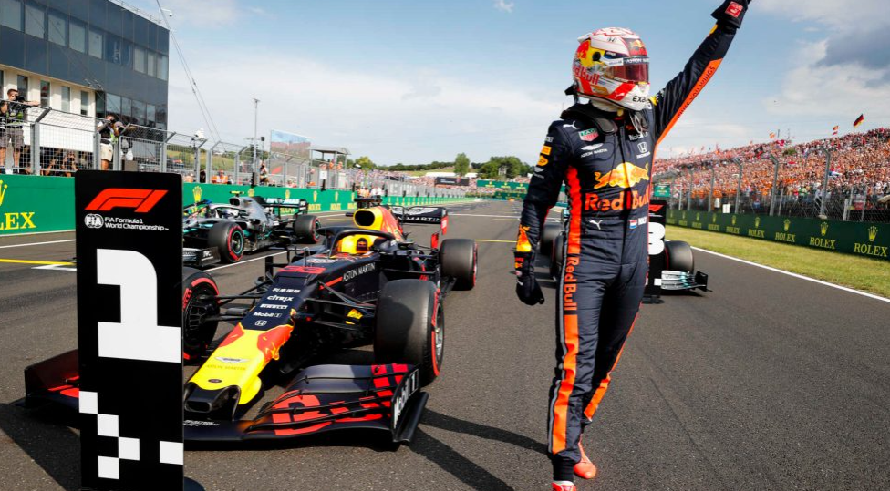 Max Verstappen takes maiden career pole in thrilling Hungary qualifying