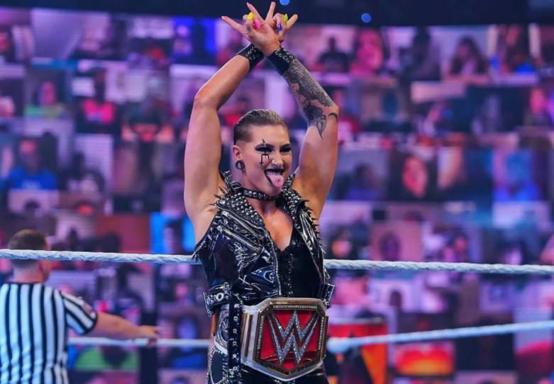 Australian professional wrestler, Rhea Ripley