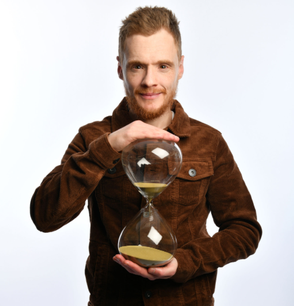 Andrew Lawrence started his stand-up career at a regular comedy night