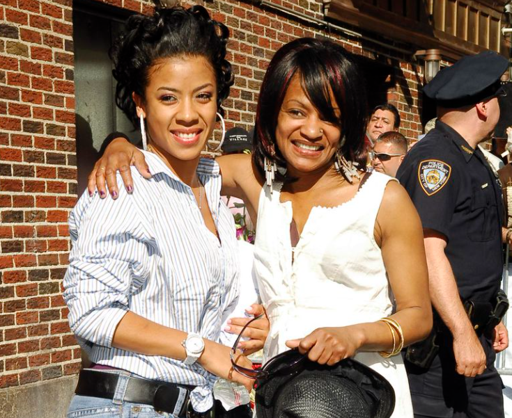 Keyshia Cole and her mother, Frankie Lons