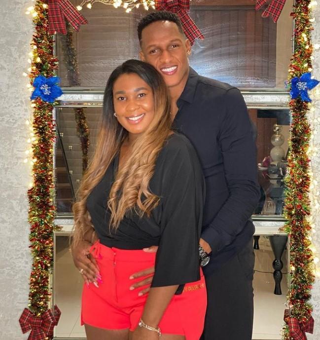 Yerry Mina wife