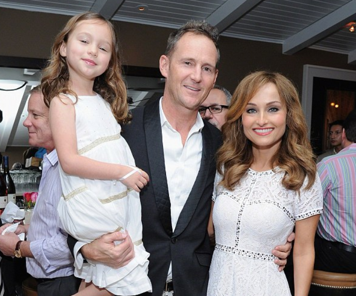 Giada De Laurentiis with her ex-husband, Todd Thompson and their daughter, Jade Marie De Laurentiis-Thompson