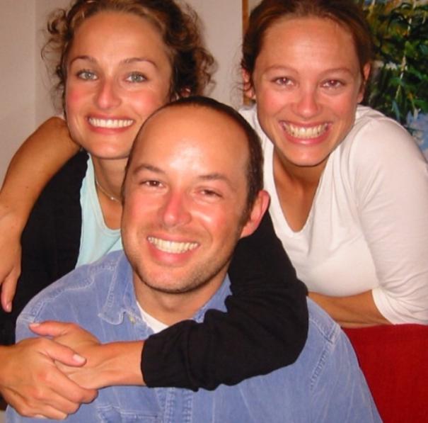Giada De Laurentiis with her siblings (late brother Dino and sister Eloisa)