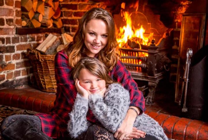 Charlie Brooks and her daughter Kiki